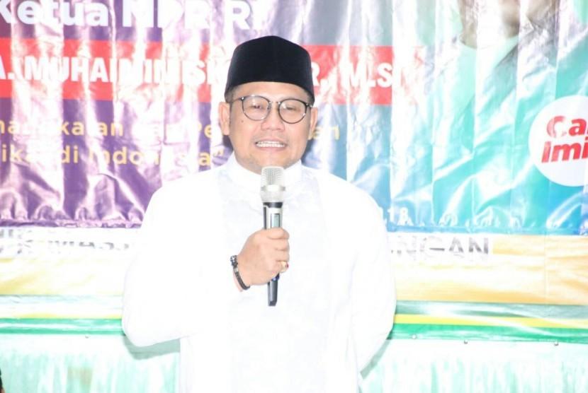 Wakil Ketua MPR RI Abdul Muhaimin Iskandar