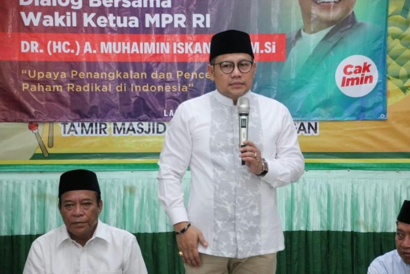 Wakil Ketua MPR RI Abdul Muhaimin Iskandar (Cak Imin).
