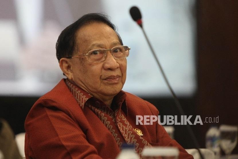 Wakil ketua MPR RI, E.E. Mangindaan