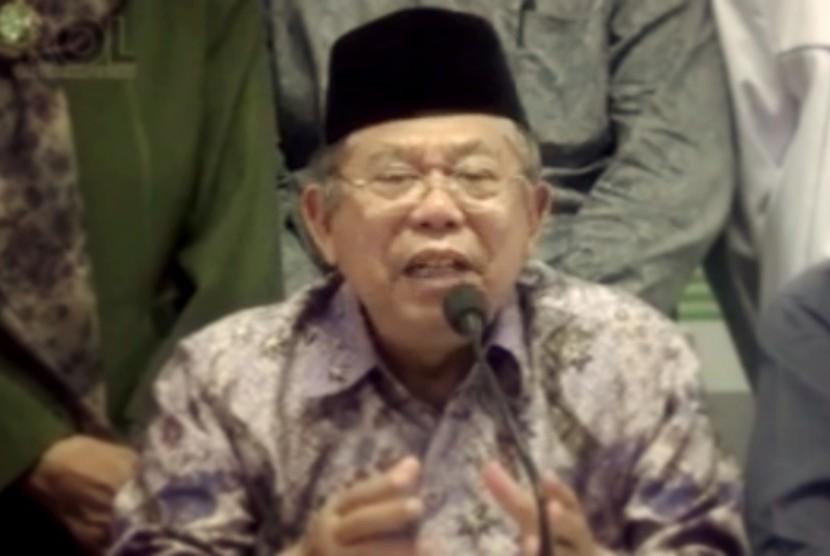 Wakil Ketua Umum MUI, Ma'ruf Amin