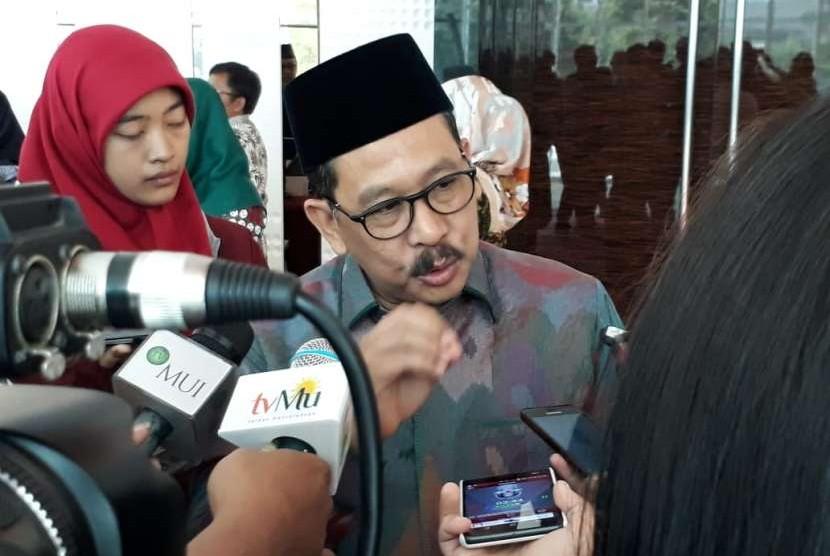 Wakil Ketua Umum MUI, Zainut Tauhid Sa'adi