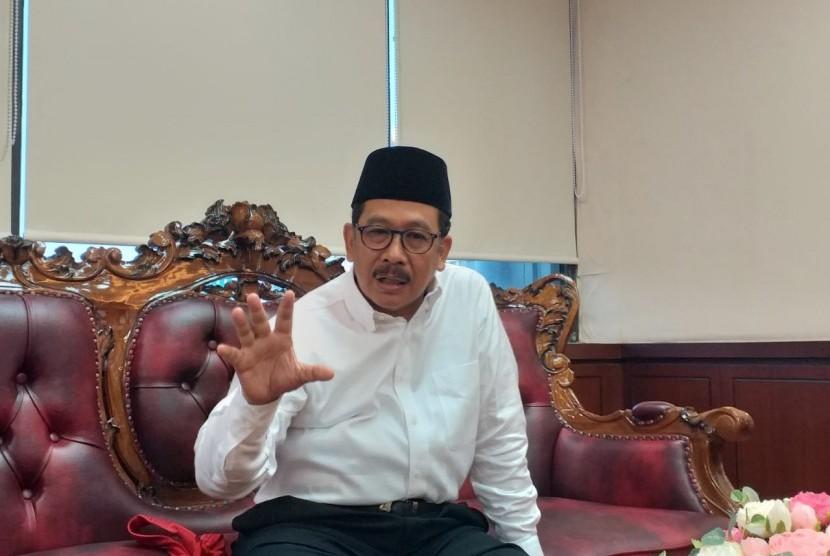 Wamenag Apresiasi Deklarasi Agama Untuk Indonesia Adil. Foto: Wakil Menteri Agama (Wamenag), KH Zainut Tauhid Sa