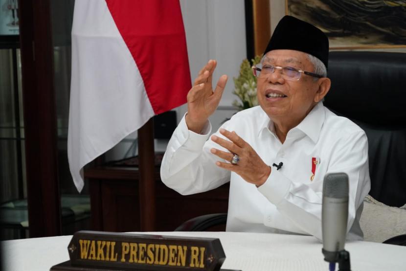 Wakil Presiden KH Ma'ruf Amin.