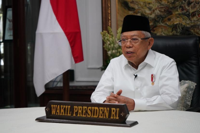 Wakil Presiden (Wapres) Ma'ruf Amin.