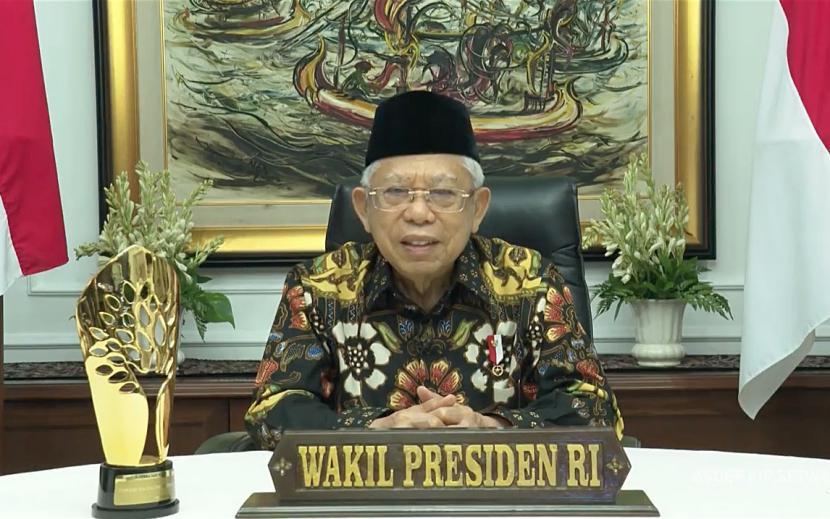 Wakil Presiden RI KH Maruf Amin.