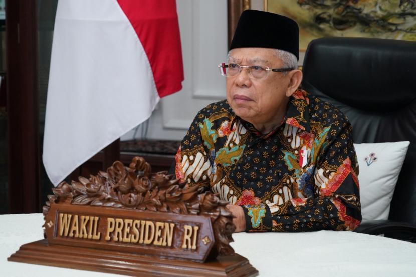 Wakil Presiden  RI Maruf Amin.