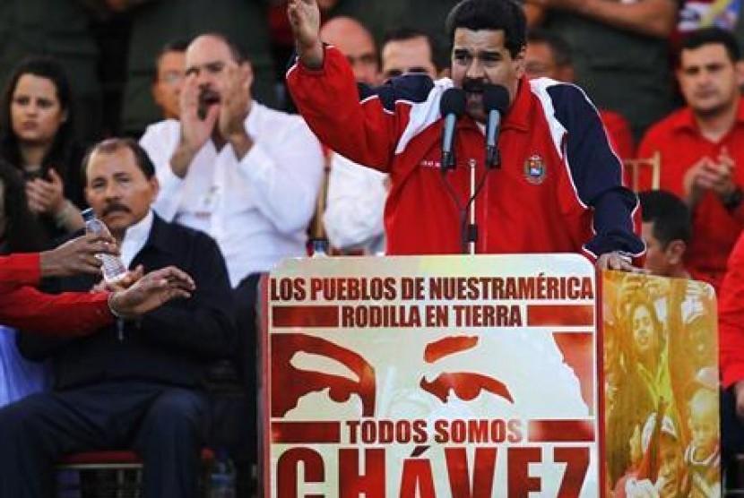 Wakil Presiden Venezuela Nicolas Maduro