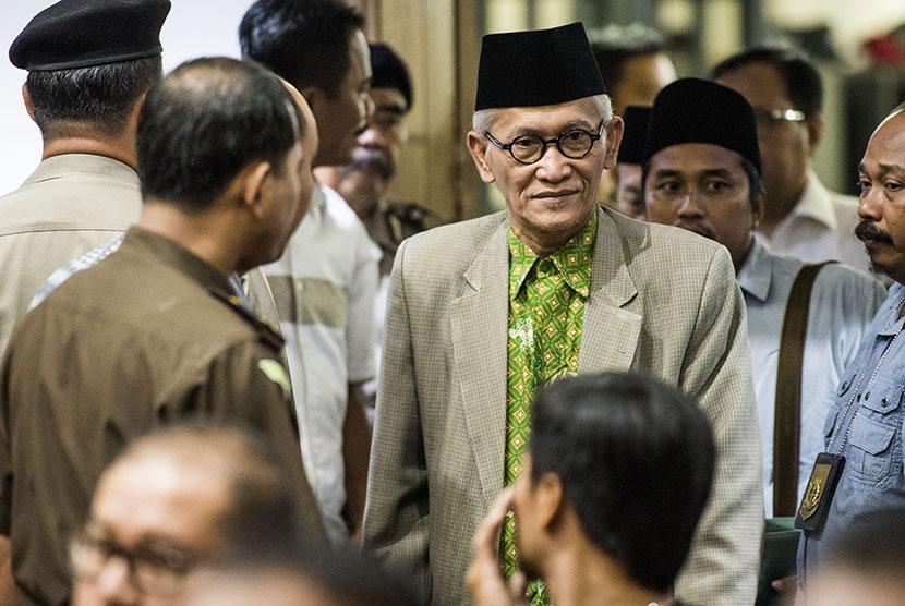 Wakil Rais Aam Pengurus Besar Nahdlatul Ulama ( PBNU) Miftahul Akhyar