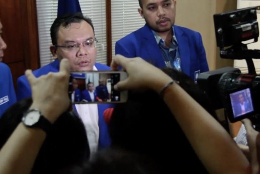Wakil Sekretaris Jenderal PAN Saleh Partaonan Daulay