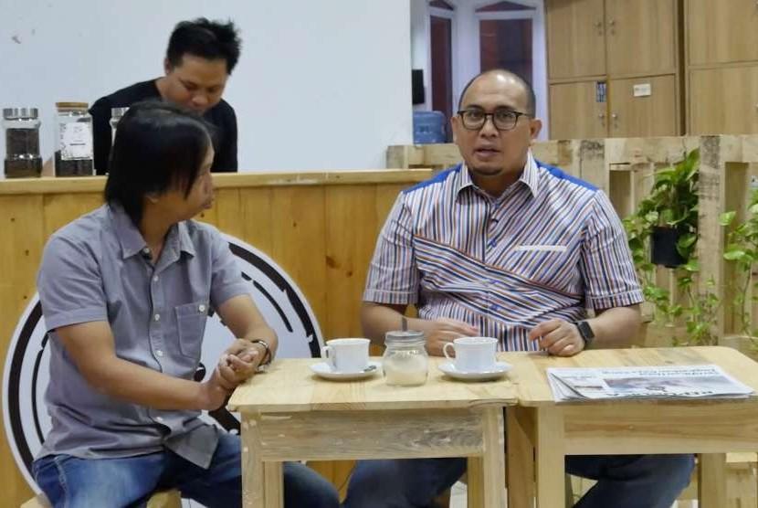 Wakil Sekretaris Jenderal (Wasekjen) DPP Partai Gerindra, Andre Rosiade (kanan)