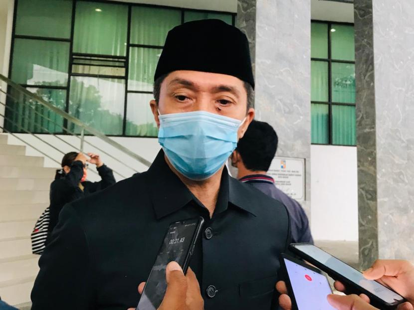 Wakil Wali Kota Bogor, Dedie Abdu Rachim.