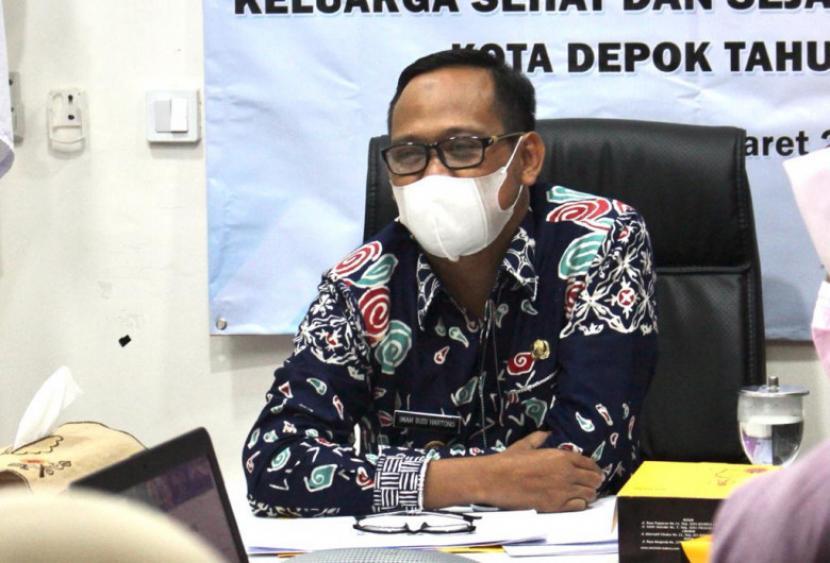Wakil Wali Kota Depok, Imam Budi Hartono.