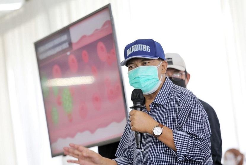 Wali Kota Bandung Doakan Ketua AKAR Segera Sembuh.  Wali Kota Bandung, Oded M Danial.