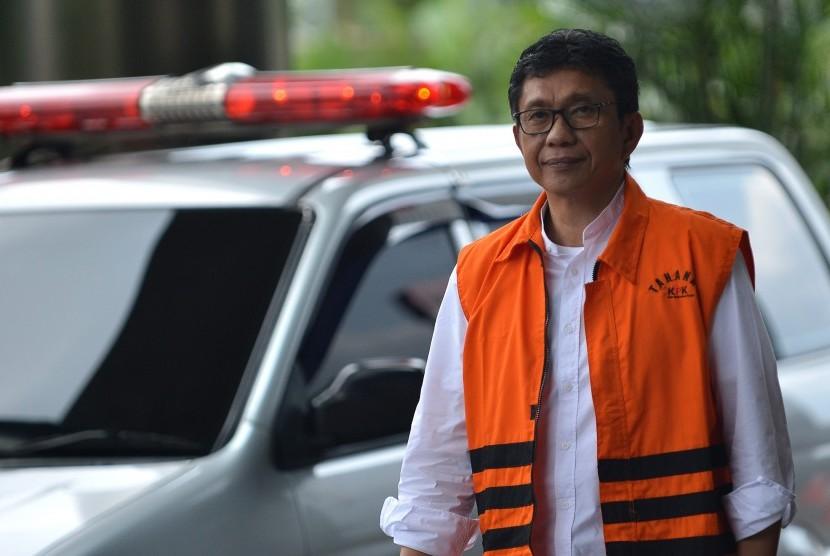 Wali Kota Batu nonaktif Eddy Rumpoko