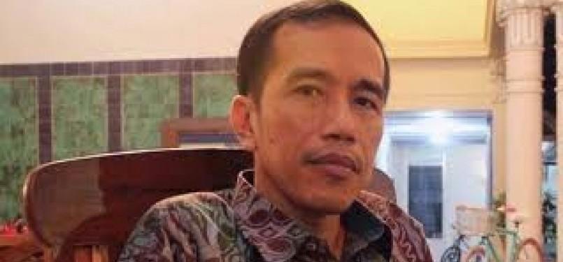 Wali Kota Solo, Joko Widodo. PDI Perjuangan dan Partai Gerindra dikabarkan sepakat untuk mengusung politisi yang akrab disapa Jokowi itu dalam Pemilukada DKI Jakarta sebagai Calon Gubernur DKI.