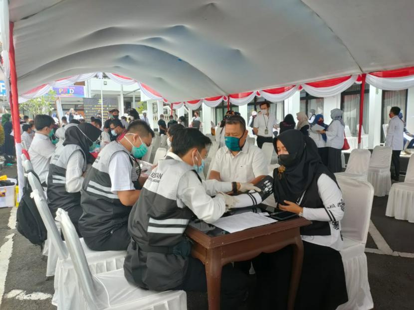 Serapan Vaksin Sukabumi Salah Satu Tertinggi di Jabar (ilustrasi).