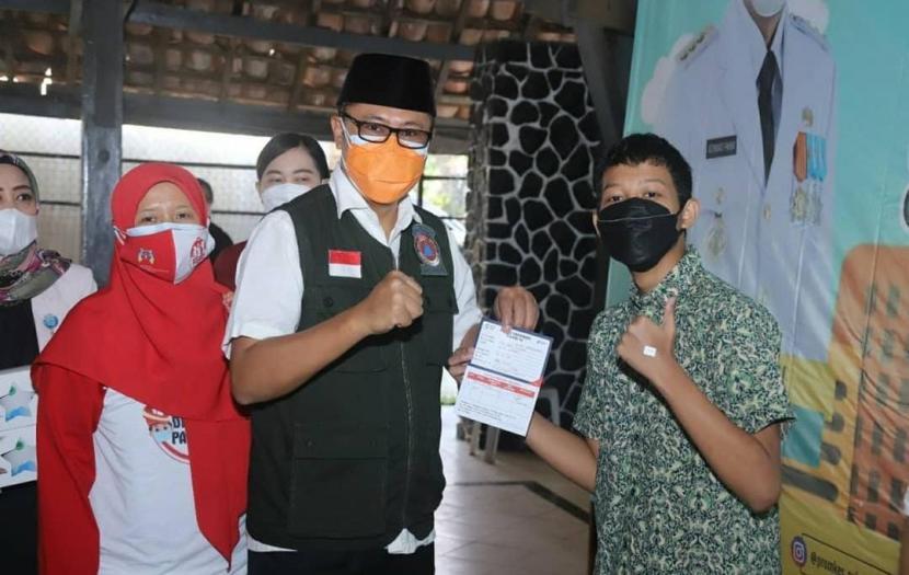 Wali Kota Sukabumi Achmad Fahmi.