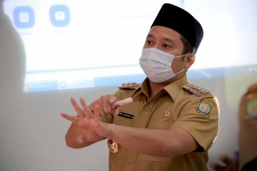 Wali Kota Tangerang Arief Rachadiono Wismansyah.