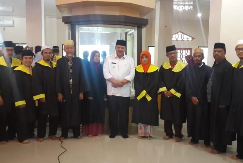 Walikota Solok, Zul Alfian bersama Dewan  Hakim MTQ ke-38 Provinsi Sumatra Barat.