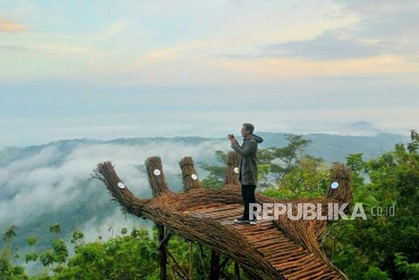 Salah satu destinasi wisata di Gunung Kidul  (ilustrasi)