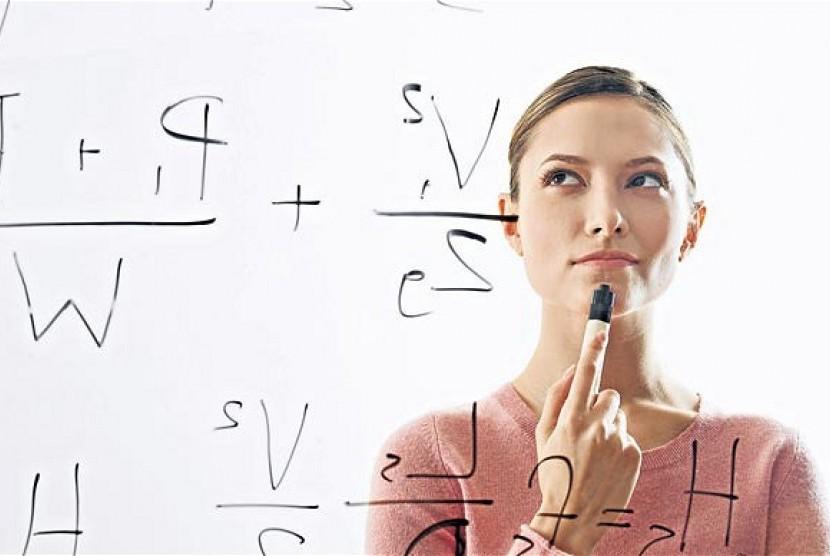 Wanita cerdas (ilustrasi)