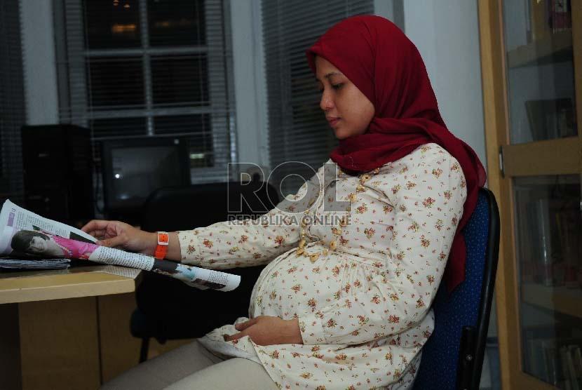 Wanita hamil (ilustrasi)