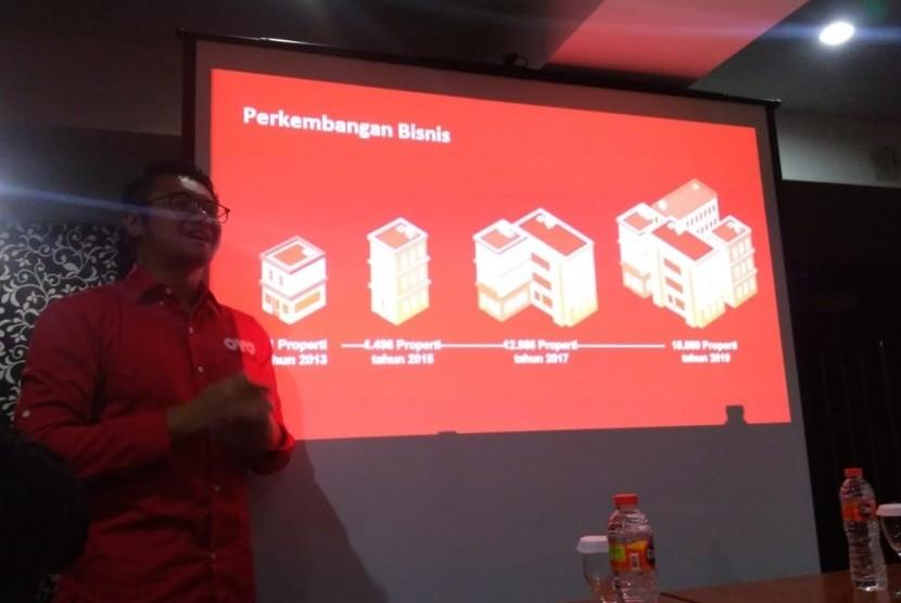 Region Head Java OYO Indonesia, Bayu Seto,  menjelaskan selama Ramadhan dan libur Lebaran 2019, OYO mengalami kenaikan pemesanan di Bandung mencapai 540 persen dibanding libur Natal dan Tahun Baru 2018.