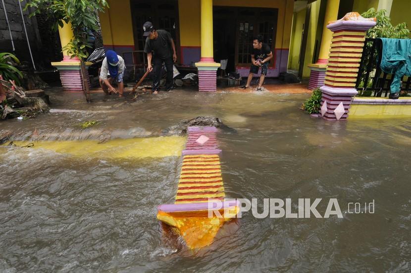 Hujan Lebat Dijadikan Penyebab Banjir di Tasikmalaya (ilustrasi).