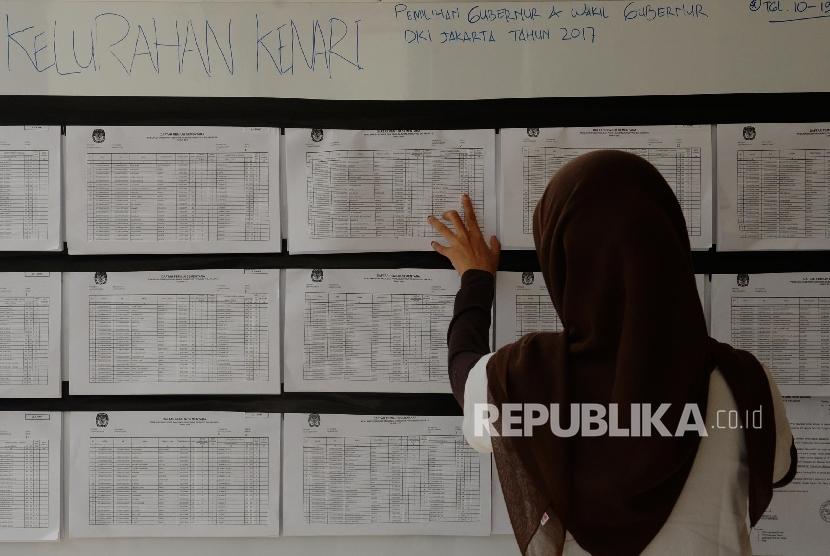 Daftar Pemilih Sementara (DPS) / Ilustrasi