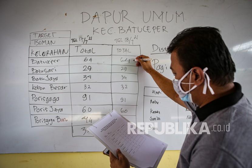 Anggaran Habis, Dapur Umum Isoman Pemkot Cirebon Berhenti (ilustrasi).
