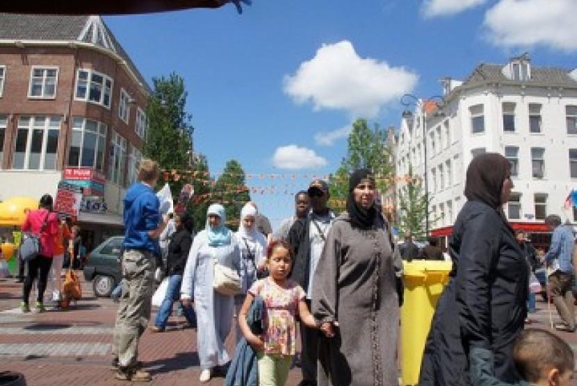 Warga Muslim Belanda, ilustrasi