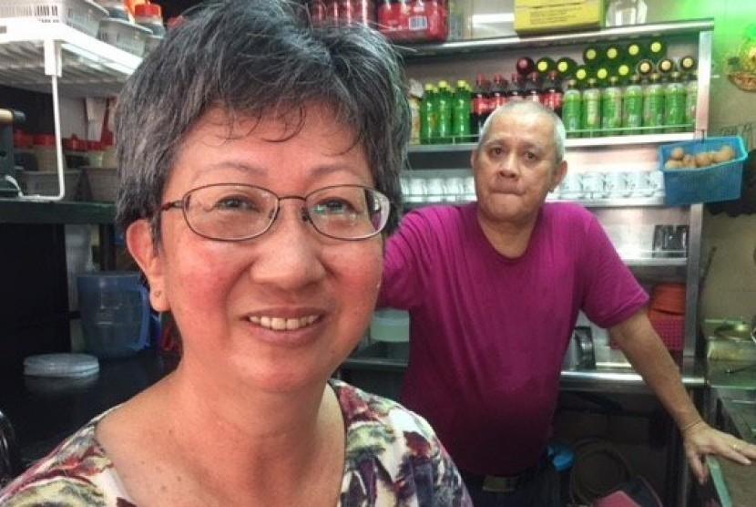 Warga Singapura Helen Lee menyambut baik pertemuan Trump-Kim karena akan membuat negara ini diperhitungkan dunia.