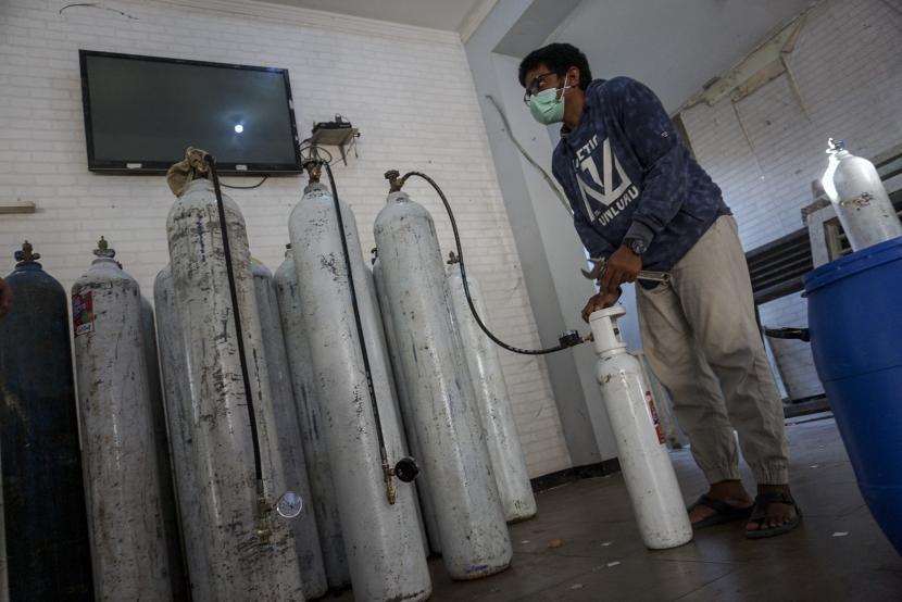Bank Indonesia Jabar Berikan Bantuan 95 Tabung Oksigen (ilustrasi).