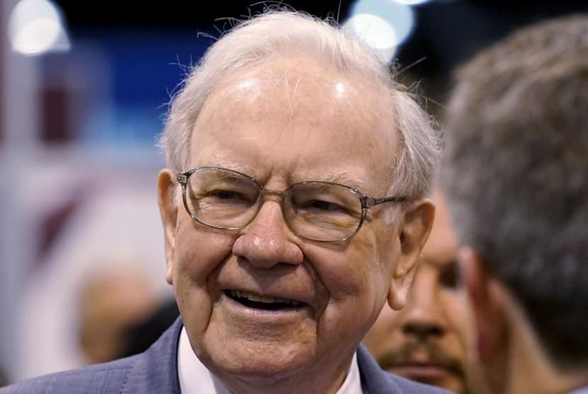 Warren Buffet, CEO Berkshire Hathaway Inc, orang terkaya dunia nomor tiga.