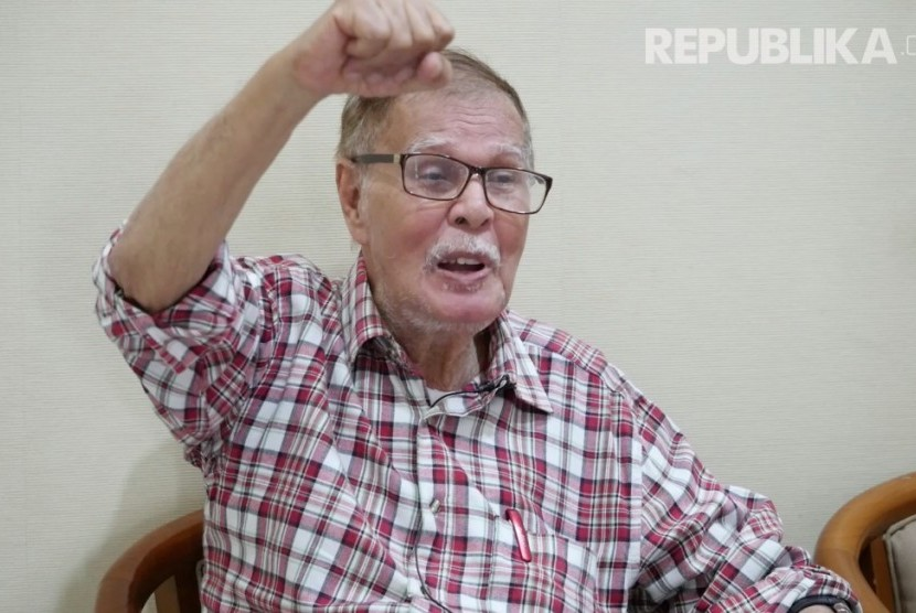 Wartawan senior Republika, Alwi Shahab (Abah Alwi).