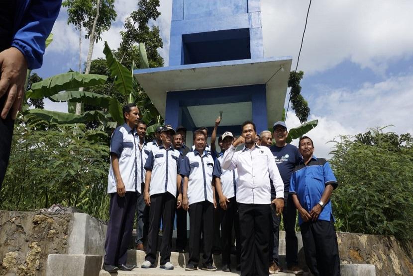 Water.org dan Danone-AQUA melakukan kunjungan ke KPSPAMS Jolotundo di Desa Juwangi, Boyolali, Jawa Tengah yang  merupakan salah satu kelompok dampingan yang mengikuti program