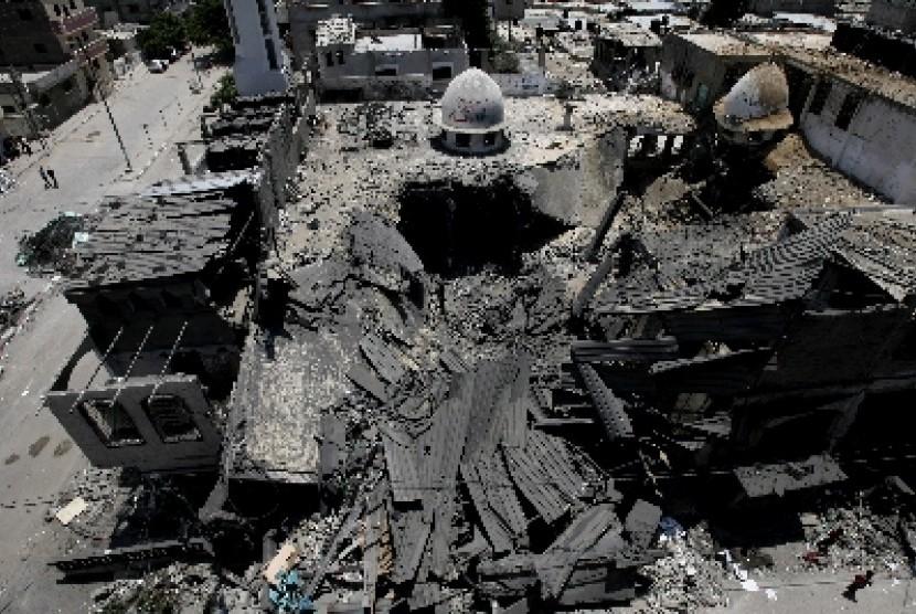 Wilayah Rafah di Palestina.