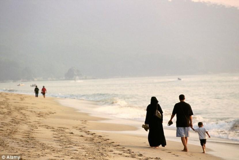 Wisatawan Arab terboros di dunia