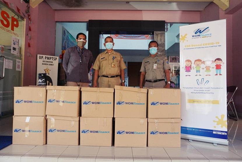 WOM Finance donasi 3.000 paket multivitamin anak di 6 kecamatan DKI Jakarta