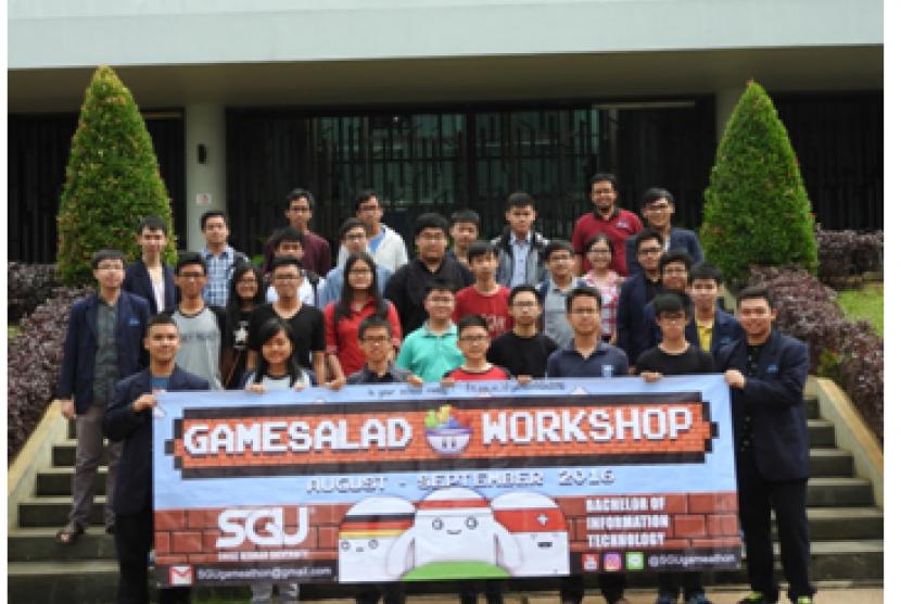 Workshop membuat game di SGU.