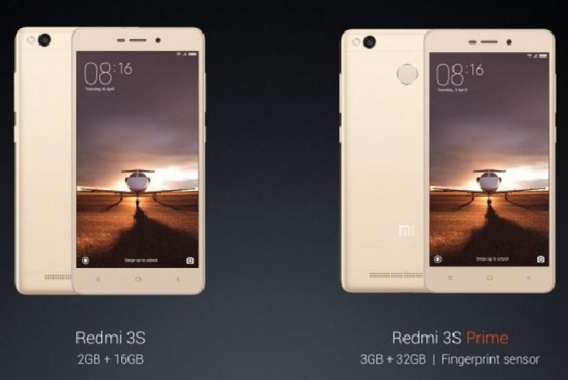 Salah satu telepon pintar keluaran Xiaomi  (ilustrasi)