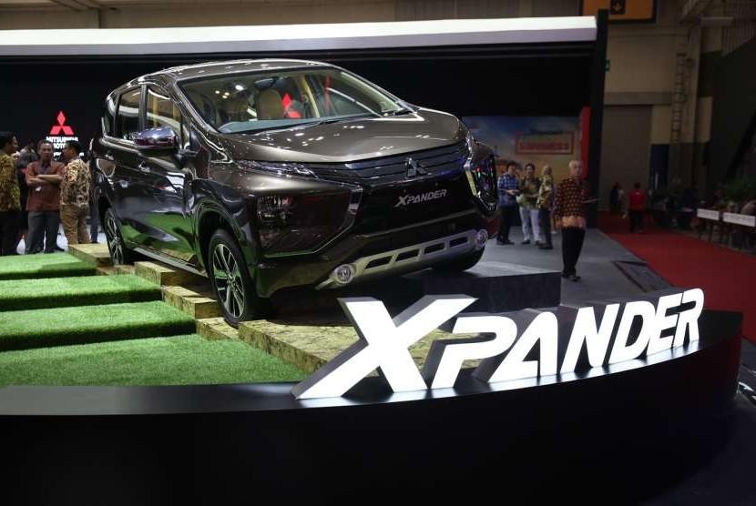 Xpander menjadi salah satu kendaraan paling laris di GIIAS 2018