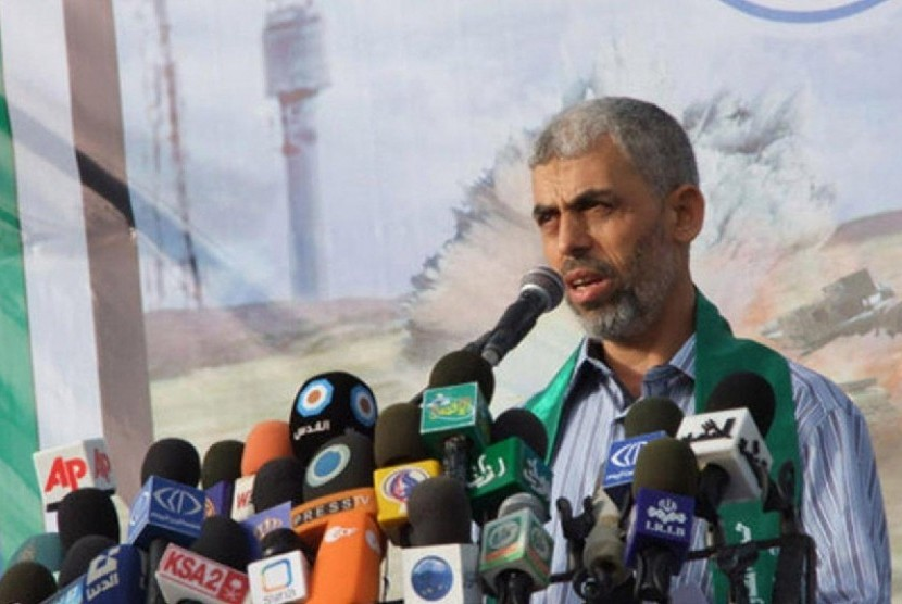 Pimpinan Hamas di Gaza, Yahya Ibrahim Hassan Al-Sinwar.