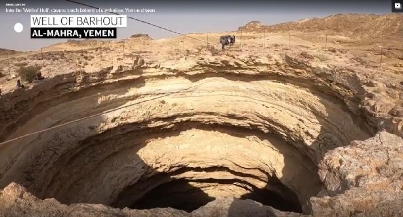 Sumur Barhout masih menjadi misteri di kalangan warga dan peneliti. Sumur Neraka Yaman