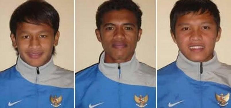 Yandi Sofyan, Alfin Tuasalamony, dan Yericho Christiantoko.