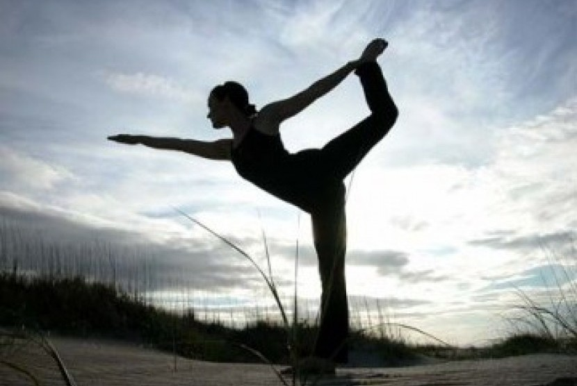 Yoga. Ilustrasi