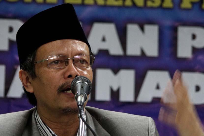 Ketua PP Muhammadiyah Bidang Tarjih dan Tajdid Yunahar Ilyas