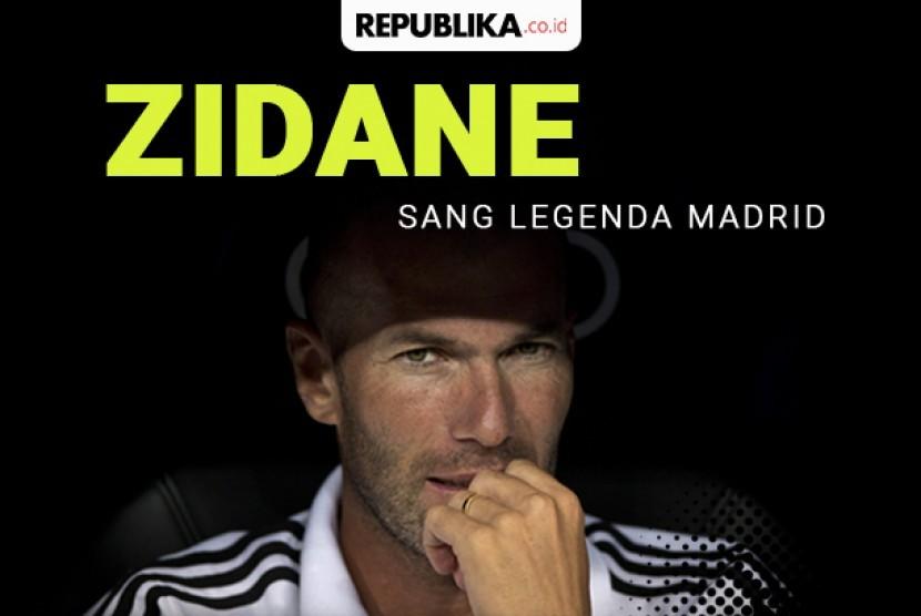 Zidane legenda Madrid