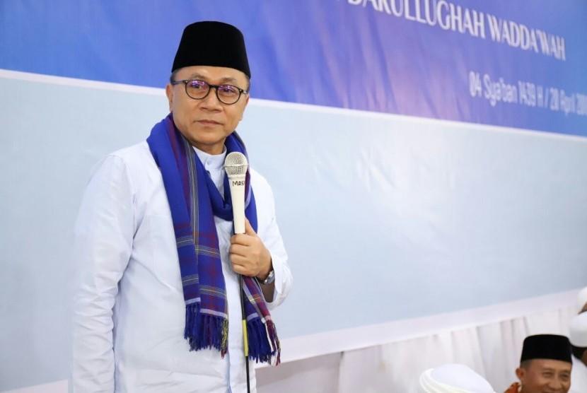 Zulkifli Hasan, Ketua MPR RI
