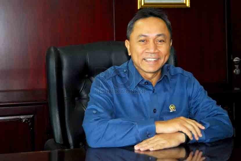 Ketua MPR-RI, Zulkifli Hasan . (Republika/Agung Supriyanto)